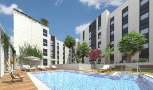 Via Augusta Residencial pisos junto AVE Cordoba