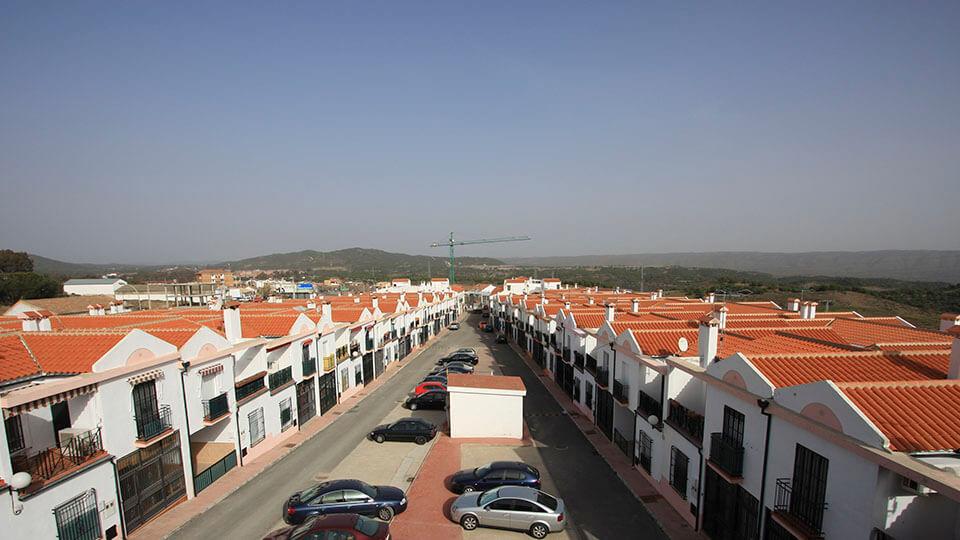 Casas adosadas calle romero córdoba