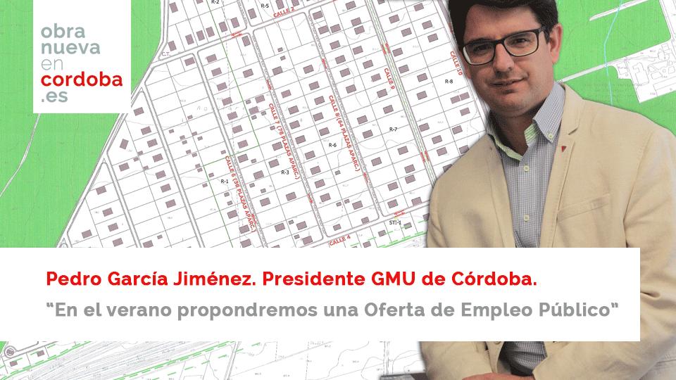 Pedro García Jiménez Obra Nueva en Córdoba
