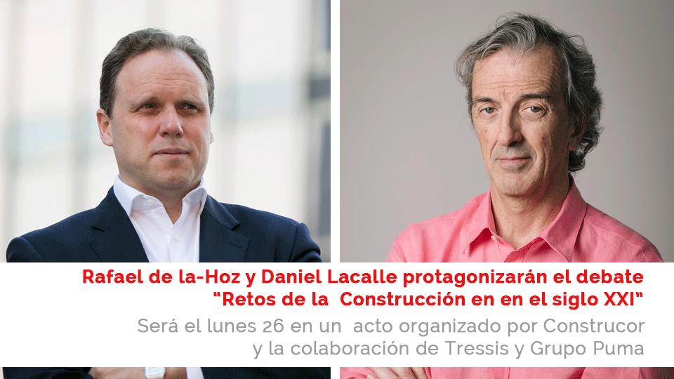Rafael de la Hoz y Daniel Lacalle