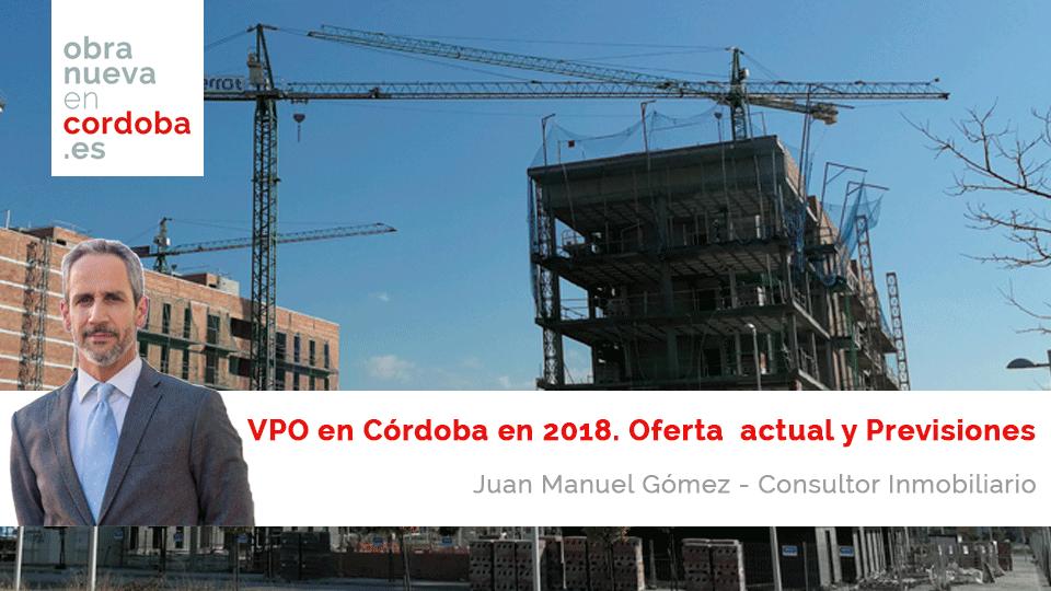 VPO en Córdoba en 2018 Obra Nueva en Córdoba