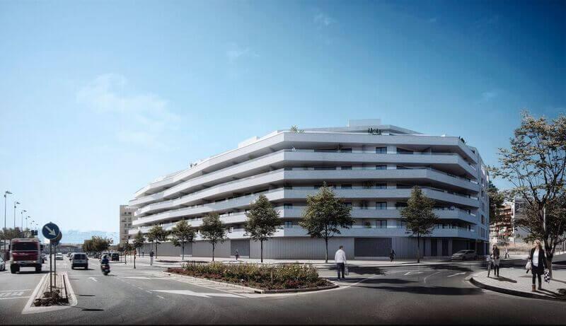 Las terrazas de poniente - Metrovacesa - Obra nueva en Córdoba