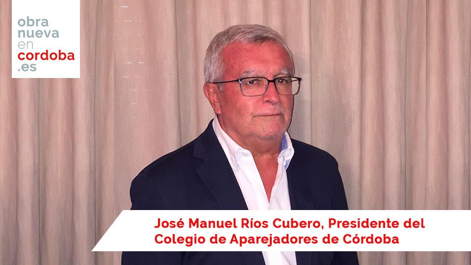 José Manuel Ríos Cubero -Obra nueva en Cordoba