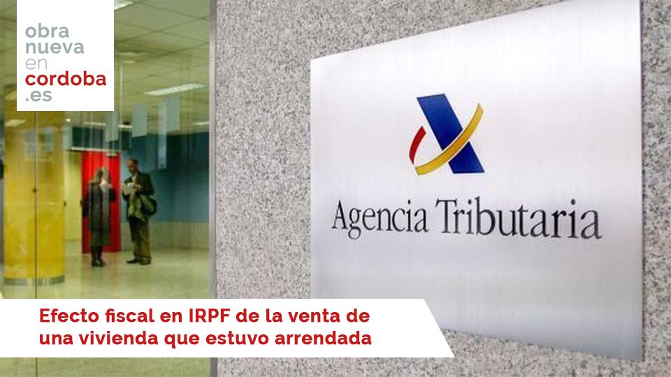 IRPF - Obra Nueva en Córdoba