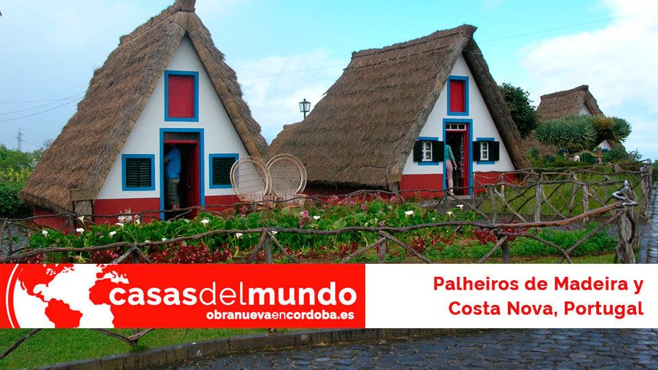 palheiros de madeira y costa nova portugal