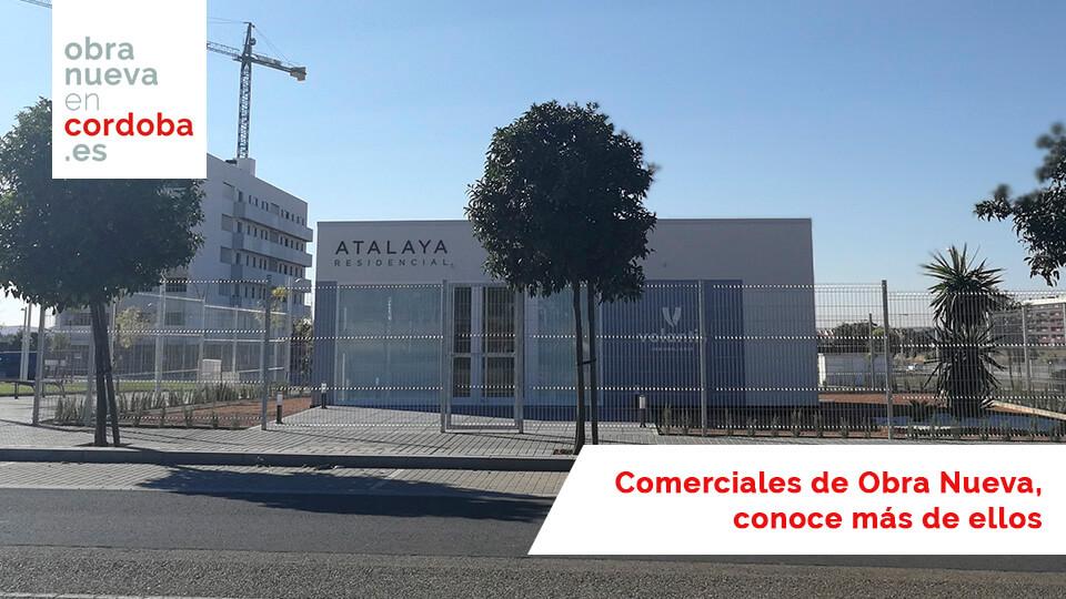 Comerciales de Obra Nueva en Córdoba