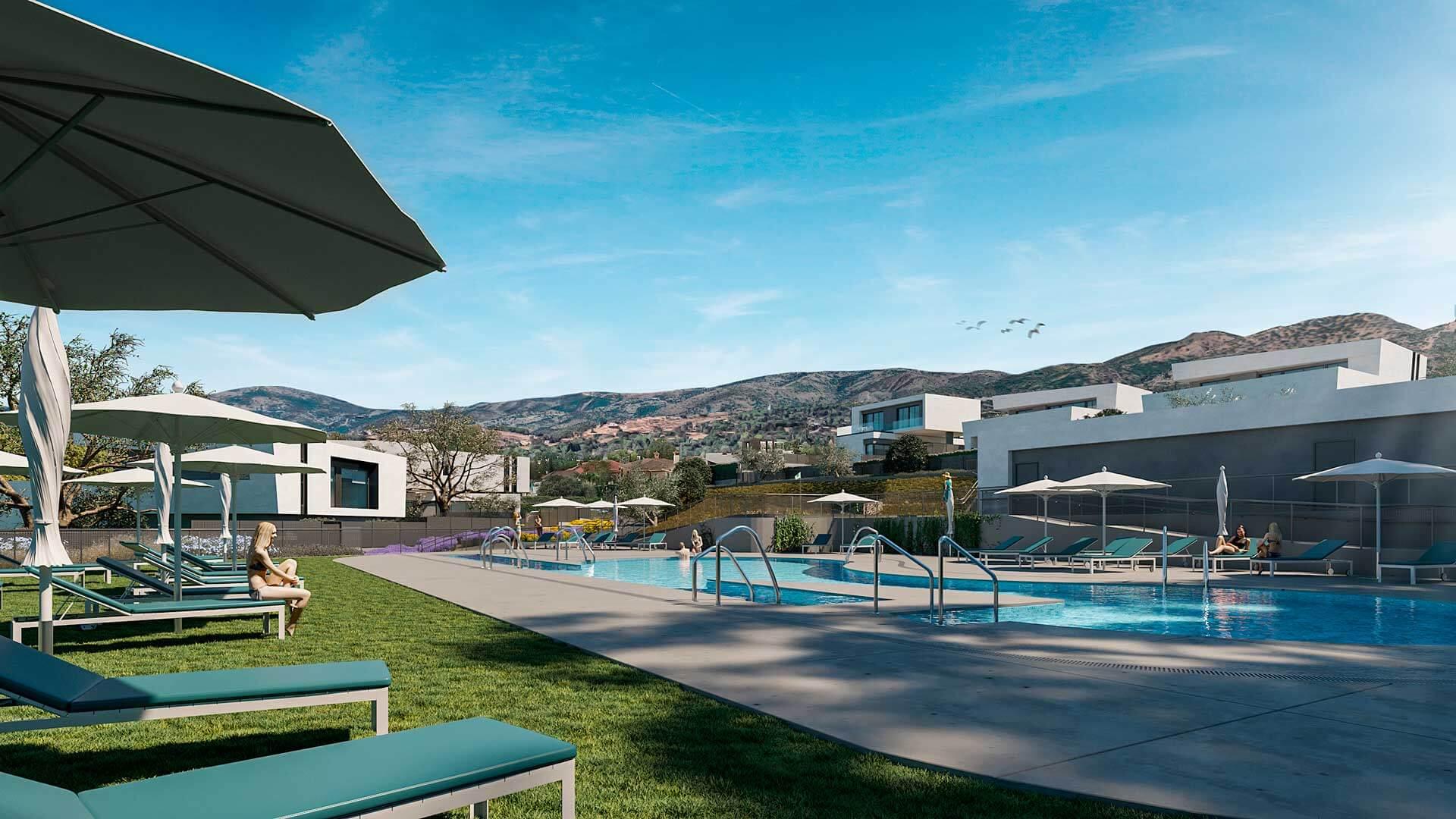 Villas de Alhaken metrovacesa obra nueva en cordoba