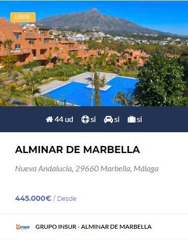 Alminar de Marbella Grupo Insur