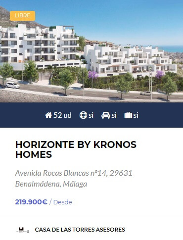Horizonte by Kronos Homes Benalmadena