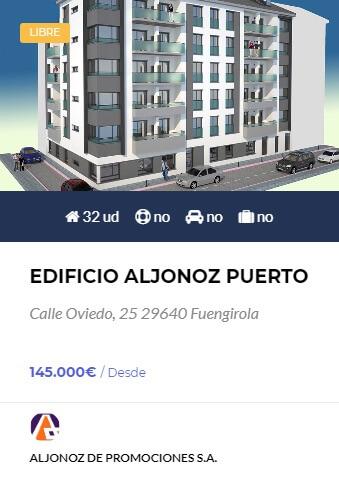 Edificio Aljonoz Puerto Fuengirola