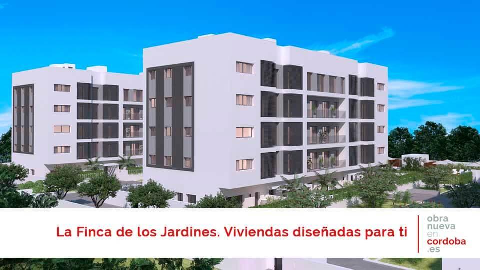 La Finca de los Jardines - obra nueva en Córdoba