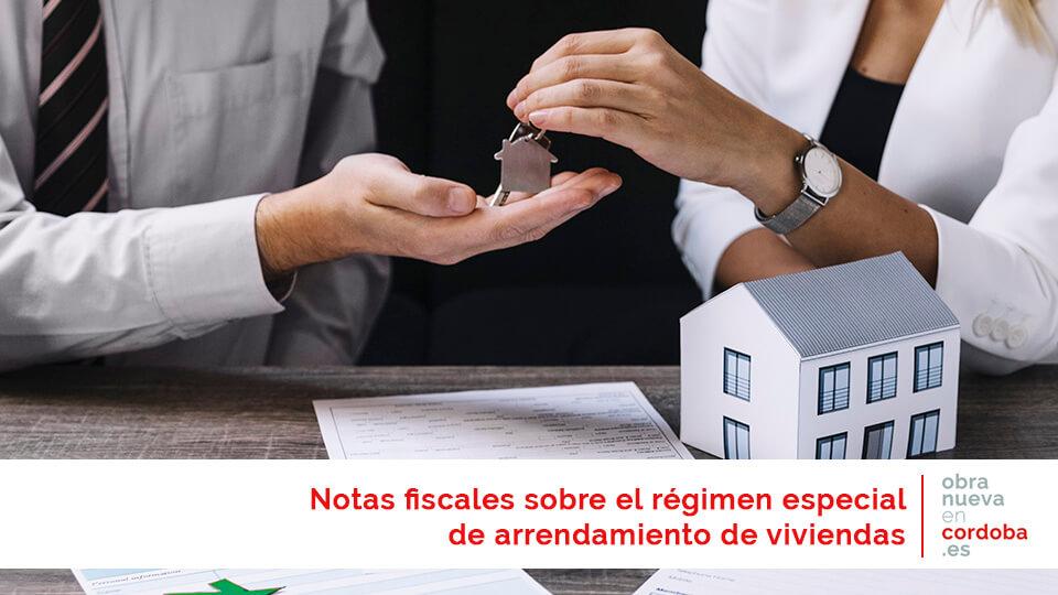 arrendamiento vivienda - obra nueva en Córdoba