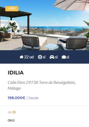 Idilia - obra nueva en Córdoba