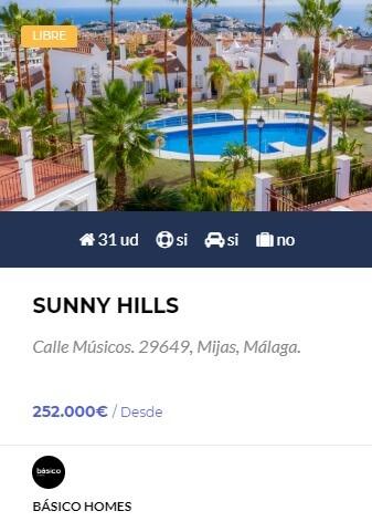 sunny hills - obra nueva en Córdoba