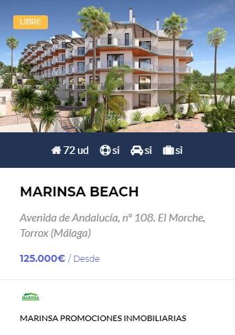 Marinsa Beach - obra nueva en Córdoba