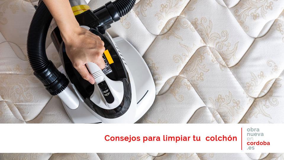 consejos limpiar el colchón