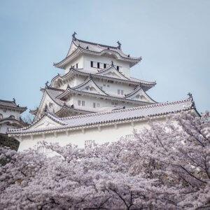 castillo de himeji japón arquitectura singular por el mundo