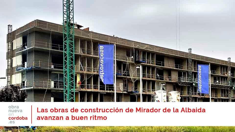 Mirador de la Albaida - obra nueva en Córdoba