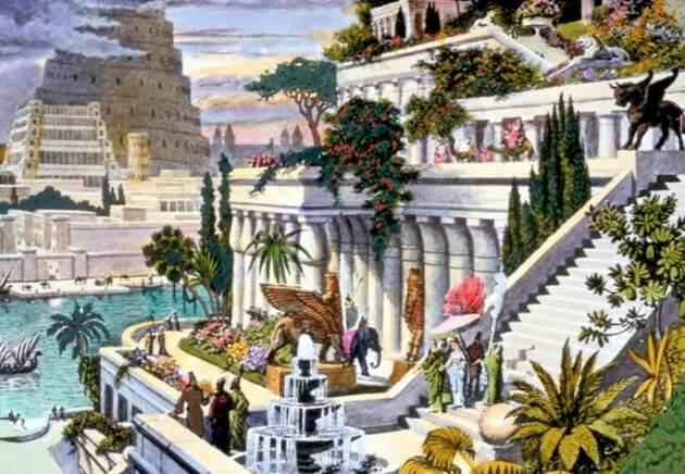 jardines con historia jardines colgantes de babilonia