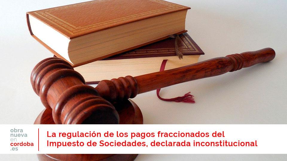 regulacion pagos fraccionados impuesto de sociedades