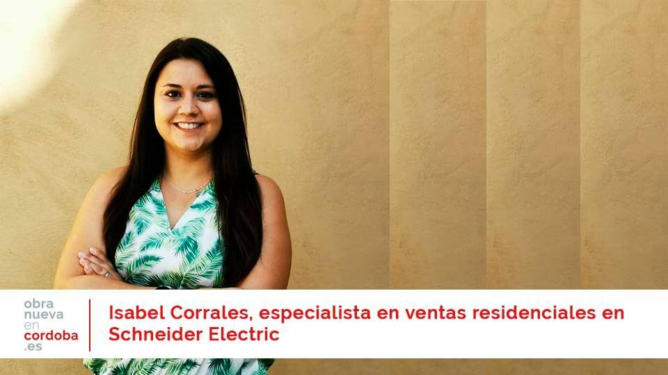 Isabel Corrales Schneider Electric - obra nueva en Córdoba