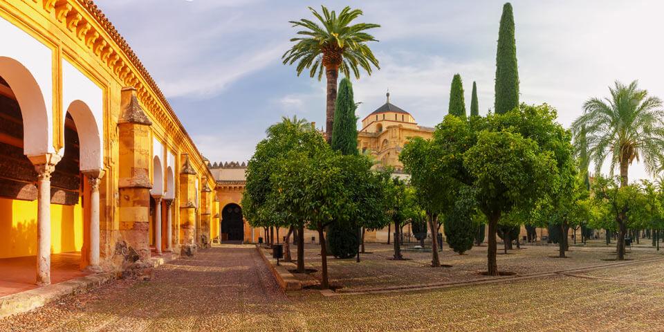 jardín de al-andalus patio de los naranjos