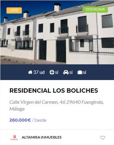 residencial los boliches obra nueva en cordoba