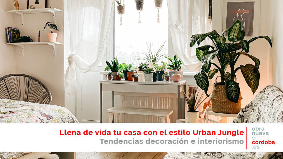 urban jungle decoración cordoba