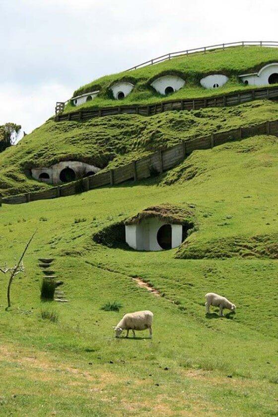 casas bajo tierra arquitectura singular