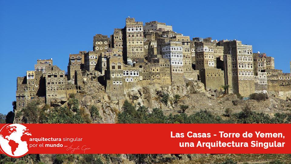 casas torre de yemen