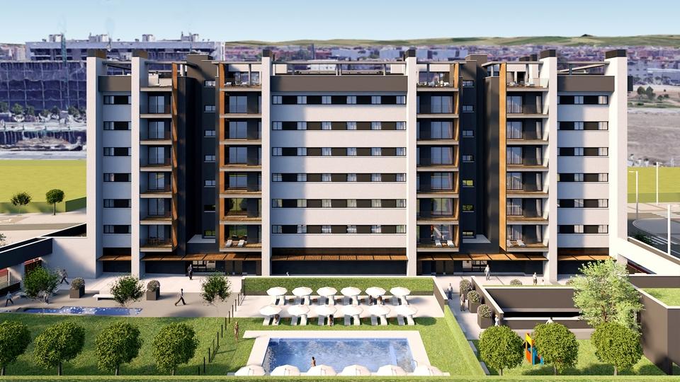 Residencial Los nogales pisos hipercor cordoba