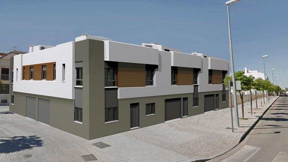 Casas adosadas SRA - obranuevaencordoba