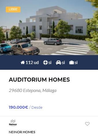 Auditorium Homes - obranuevaenmalaga