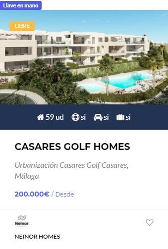 Casares Golf Homes - obranuevaenmalaga