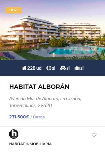 Habitat Alboran - obranuevaenmalaga