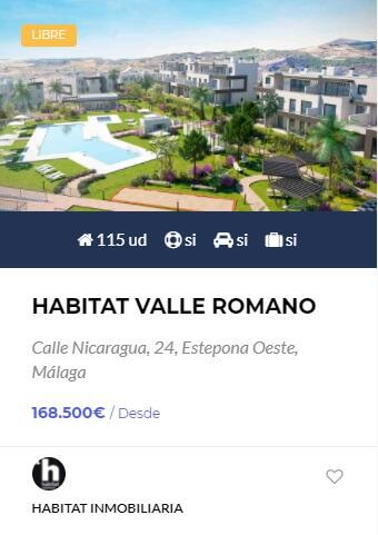 Habitat Valle Romano - obranuevaenmalaga