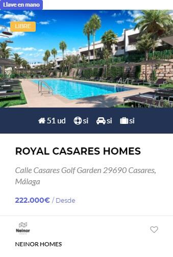 Royal Casares Homes - obranuevaenmalaga