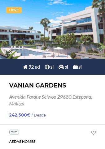 Vanian Gardens - obranuevaenmalaga