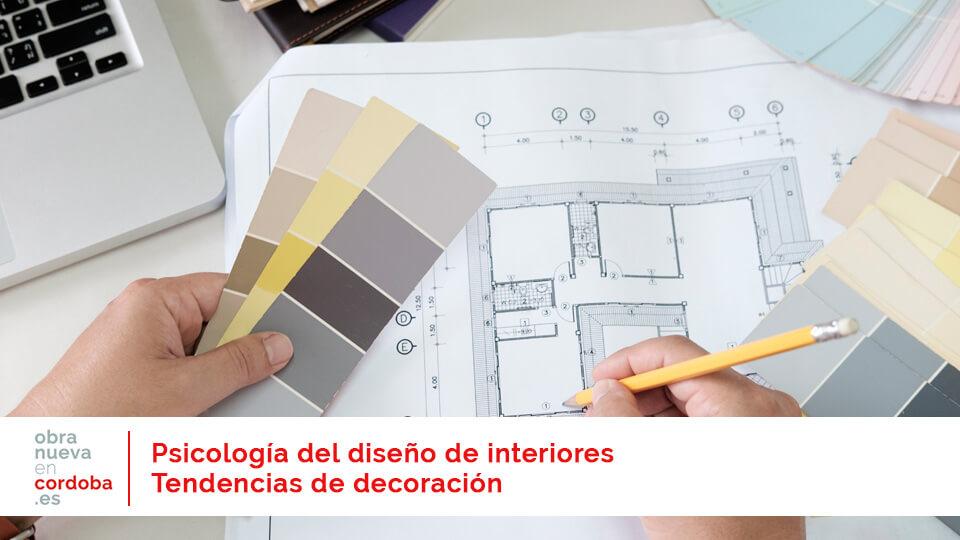 psicología del diseño de interiores decoracion obra nueva en cordoba