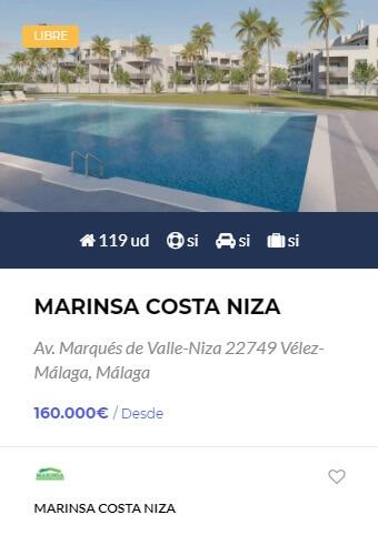 Marinsa Costa Niza - obranuevaenmalaga